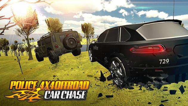 Police 4x4 Offroad Car Chase screenshot 11