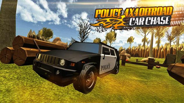 Police 4x4 Offroad Car Chase screenshot 12