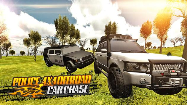 Police 4x4 Offroad Car Chase screenshot 14