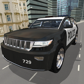 Police Car City Driving icon