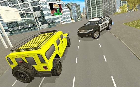 Police Car City Driving screenshot 4
