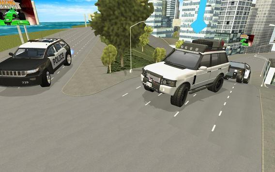 Police Car City Driving screenshot 6