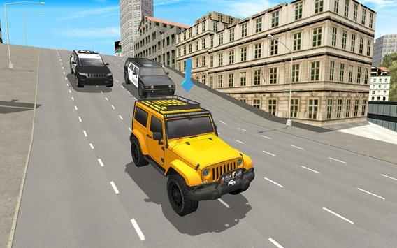 Police Car City Driving screenshot 8