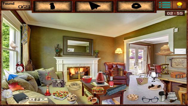 Hidden Objects Living Room apk screenshot