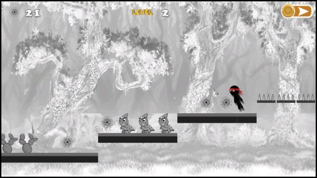 Stickman line run Jumper apk screenshot