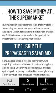 Best Grocery Shopping Tips screenshot 5