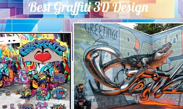 Best Graffiti 3D Design screenshot 1