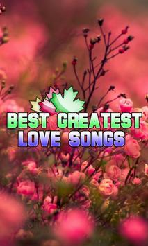 Best Greatest Love Songs poster