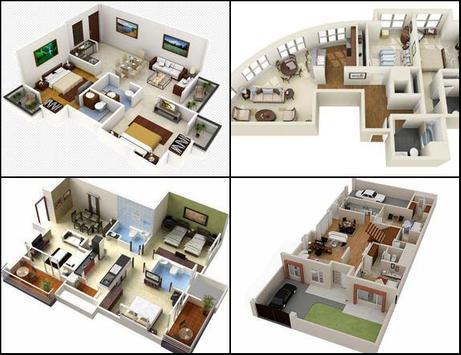 3d house floor plans design apk screenshot