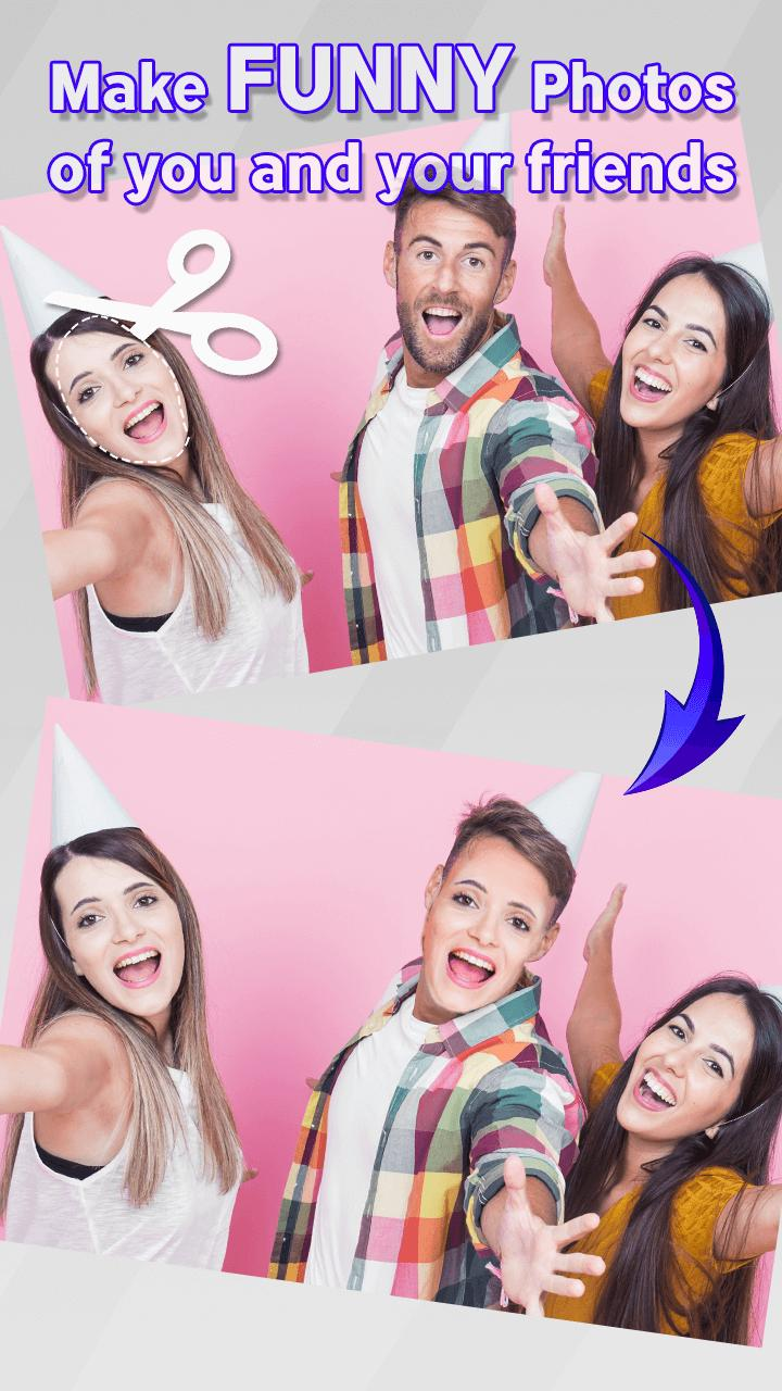 Funny Face Maker: Cut and Paste App for Android - APK Download
