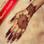 New Mehndi Designs 2017 (offline) icon