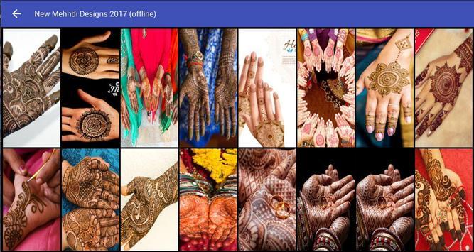 New Mehndi Designs 2017 (offline) screenshot 8