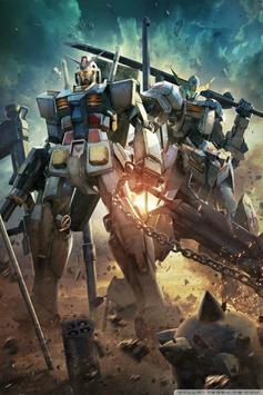 Best Mobile Wallpaper Gundam screenshot 2