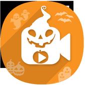 Halloween Photo Video Maker icon