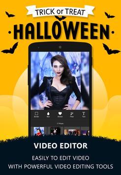 Halloween Photo Video Maker apk screenshot
