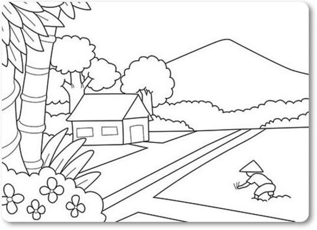 Best Scenery Drawing Ideas Kids For Android Apk Download