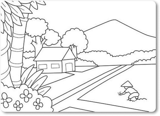 Best Scenery Drawing Ideas Kids for Android - APK Download