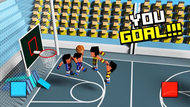 Crazy basketball physic 3d poster