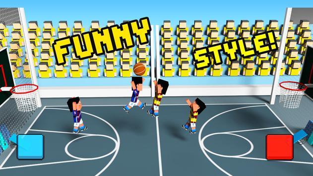 Crazy basketball physic 3d apk screenshot