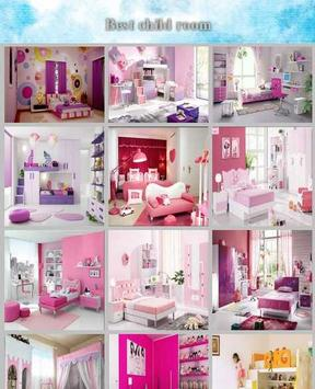 kids bedroom design poster