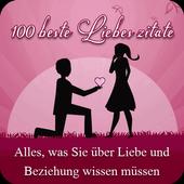 100 Beste Liebes Zitate icon