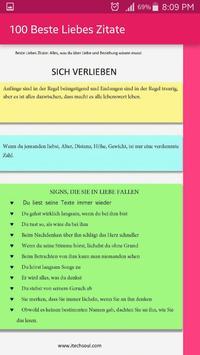 100 Beste Liebes Zitate screenshot 2