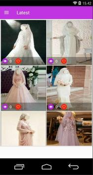 Best idea Hijab Wedding poster