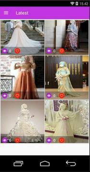 Best idea Hijab Wedding screenshot 1