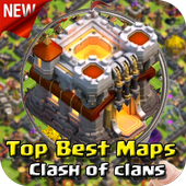 Maps For Clash of Clans 2017 icon