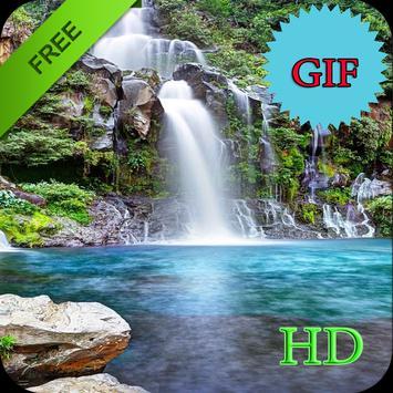 Waterfall Live Wallpaper GIF apk screenshot