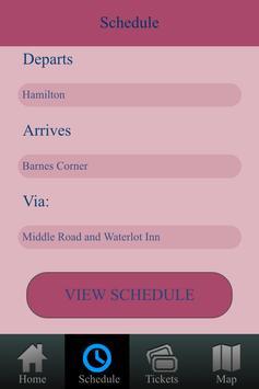 Bermuda Bus Schedule poster