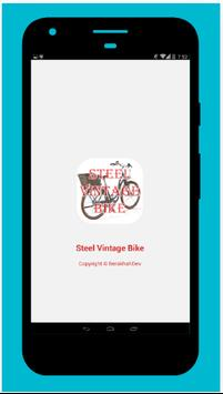 Steel Vintage Bike poster