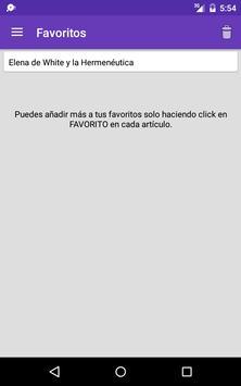 Escogidas para servir apk screenshot