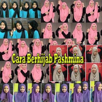 Cara Berhijab Pashmina poster