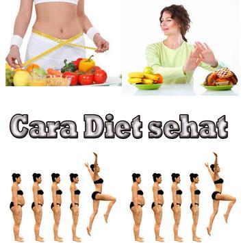 "Cara Diet Sehat Alami ""AMPUH"" poster"
