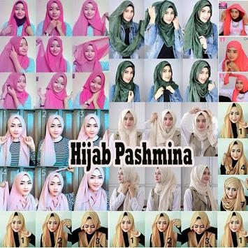 Cara Hijab Pashmina Simple apk screenshot