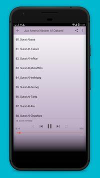 Juz 30 Merdu Nasser Al Qatami screenshot 2
