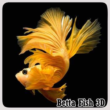 Betta Fish 3D poster