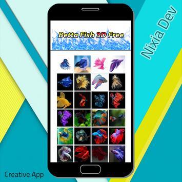 Betta Fish 3D Free screenshot 1