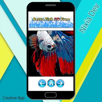 Betta Fish 3D Free screenshot 2