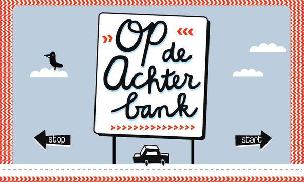 Op de Achterbank - English poster