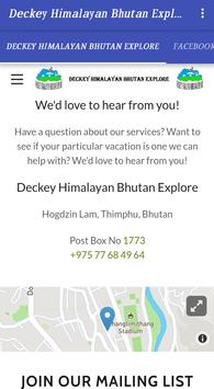 Travel to Bhutan - DHBE screenshot 2