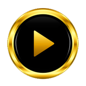 Black Gold Video Player HD icon