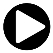 Black Video Player icon