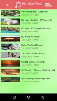 Green Video Player Ultra HD apk screenshot