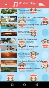 Monkey Video Player MP4 Player apk screenshot