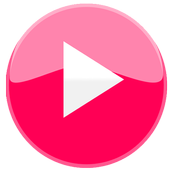 Pink Video Player icon