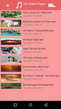 Pink Video Player apk screenshot