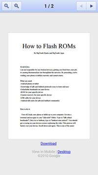 How to Flash Custom ROMs poster