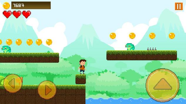 Euric's Adventure | Super World | 2d Platformer apk screenshot